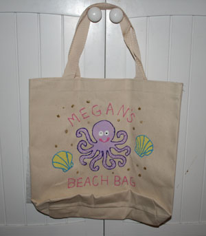 kids summer bag craft