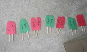 popsicle matching craft