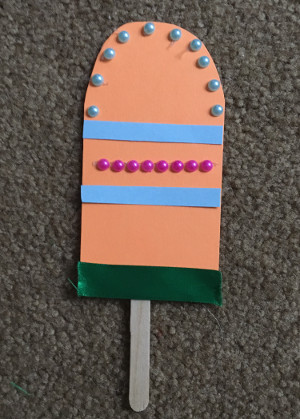 popsicle stick craft step 7
