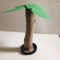 Palm Tree Craft