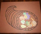 Thanksgiving Cornucopia Craft