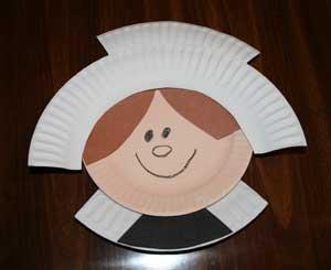 Paper Plate Pilgrim Crafts | All Kids Network