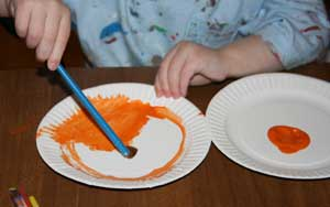 pumpkin pie craft for kids