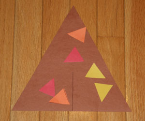 kids teepee craft