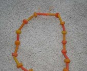 Thanksgiving Necklace Craft