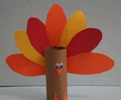 Toilet Paper Roll Turkey Craft