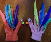 Turkey Hand Puppets Craft