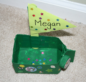 kids boat craft