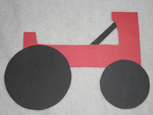kids tractor craft