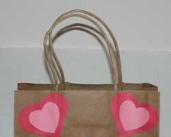 Bear Valentine Bag Craft