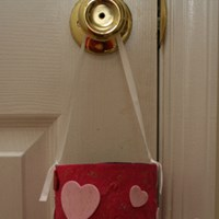 Valentine's Day Candy Holder Craft