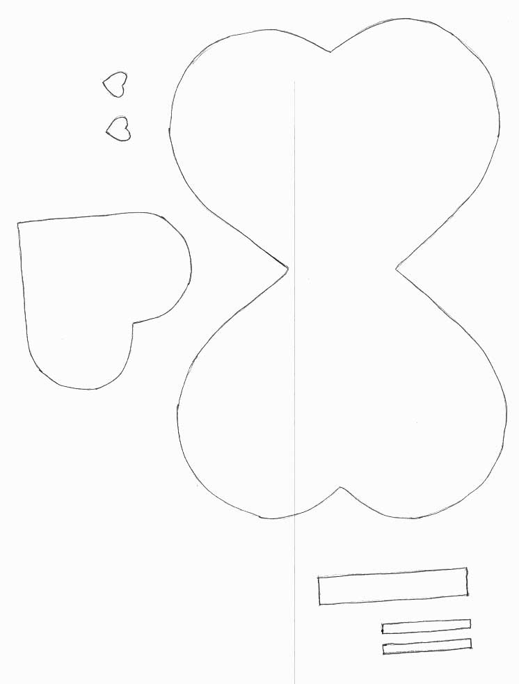 Erfly Template   Valentines Day Crafts Print Your Lollipop Butterfly Template All