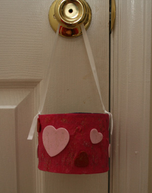 candy holder craft