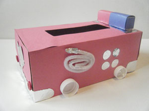 fire truck valentine box