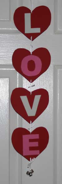 love doorhanger craft