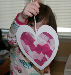 preschool heart craft