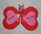 Lollipop Butterfly Craft