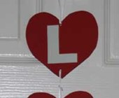 Love Doorhanger Valentine's Day Craft