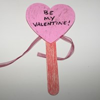 Valentine's Day Wand Craft