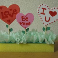 Valentines Garden Craft