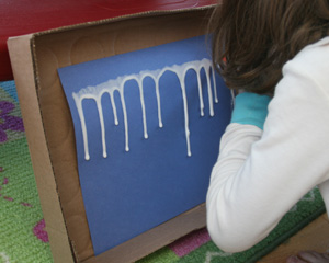 icicle craft step 2