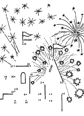 Dot To Dot 4th Of July