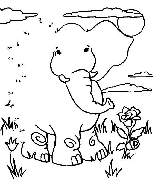 free dot coloring pages - photo#23