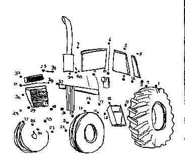 Dot To Dot Tractor