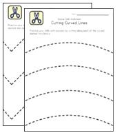 5+ Scissor Skills Worksheets for Kids | All Kids Network