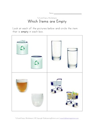 teaching empty worksheet
