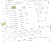 second grade adverbs worksheets