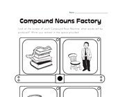 making compound nouns worksheet