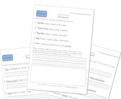 first grade pronoun worksheets