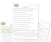 2nd grade proper noun worksheets
