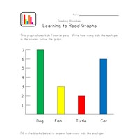 pets graphing worksheet