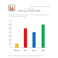 toys graphing worksheet