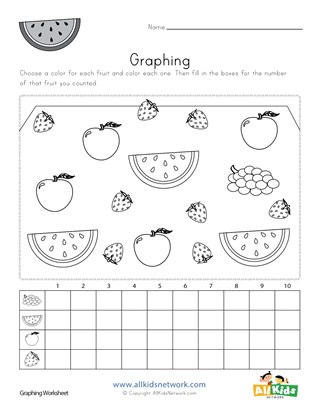 Fruit Worksheets | All Kids Network