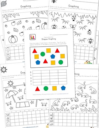 graphing practice worksheets