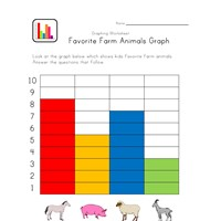animals graphing worksheet