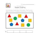 kindergarten graphing worksheet