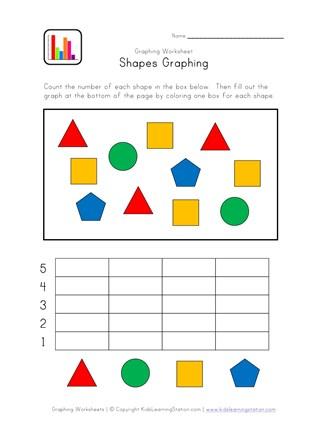 Kindergarten Graphing Worksheet   All Kids Network