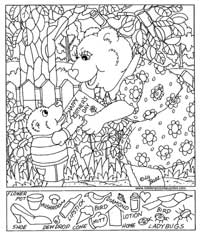Worksheets Hidden Picture Worksheets free printable hidden pictures for kids all network