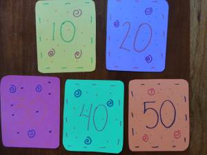 100th day school game numbers