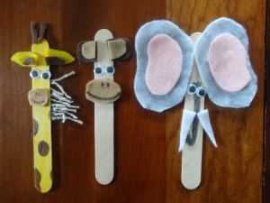 Animal Menagerie Popsicle Sticks All Kids Network