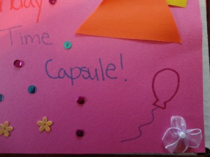 birthday time capsule craft for kids