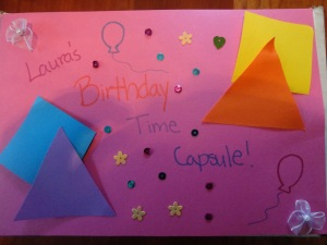 birthday party time capsule craft