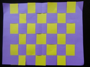 woven paper placemat 3