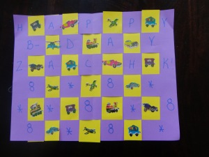 birthday placemats craft for kids