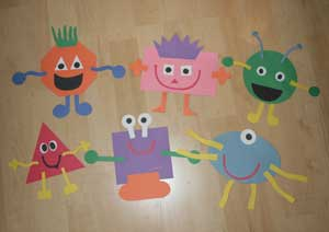 shape monsters craft