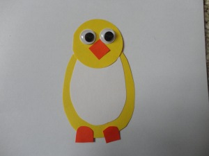 chick card craft